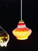 ランプと編み物